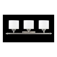 Avignon 3 Light 27 inch Brushed Nickel Vanity Wall Light