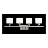 Z-Lite 2000-4V Avignon 4 Light 36 inch Brushed Nickel Vanity Light Wall Light photo thumbnail