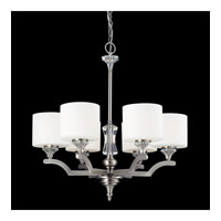 Avignon 6 Light 25 inch Brushed Nickel Chandelier Ceiling Light