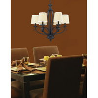 Z-Lite 2001-6 Charleston 6 Light 26 inch Matte Black Chandelier Ceiling Light alternative photo thumbnail