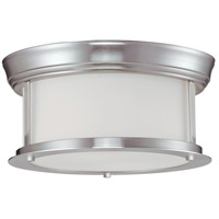 Z-Lite Sonna 2 Light Flush Mount in Brushed Nickel 2002F10-BN