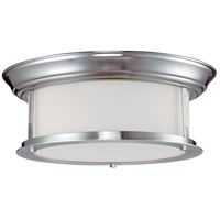 Sonna 2 Light 13 inch Brushed Nickel Flush Mount Ceiling Light