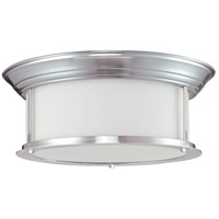 Z-Lite Sonna 3 Light Flush Mount in Brushed Nickel 2002F16-BN