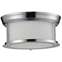 Sonna 2 Light 11 inch Chrome Flush Mount Ceiling Light in 10