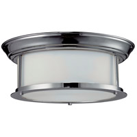 Sonna 2 Light 13 inch Chrome Flush Mount Ceiling Light