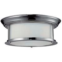 Z-Lite 2003F13-CH Sonna 2 Light 13 inch Chrome Flush Mount Ceiling Light