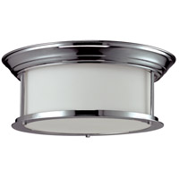 Sonna 3 Light 16 inch Chrome Flush Mount Ceiling Light