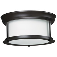 Z-Lite 2004F10-BRZ Sonna 2 Light 11 inch Bronze Flush Mount Ceiling Light in 10