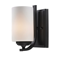 Z-Lite Chambley 1 Light Wall Sconce in Oil Rubbed Bronze 2006-1S