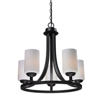 Z-Lite Chambley 5 Light Chandelier in Oil Rubbed Bronze 2006-5