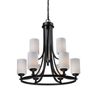 Z-Lite Chambley 9 Light Chandelier in Oil Rubbed Bronze 2006-9