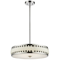 Sevier LED 20 inch Chrome Pendant Ceiling Light in 6