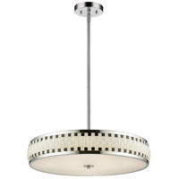 Sevier LED 24 inch Chrome Pendant Ceiling Light in 7