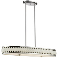 Sevier LED 11 inch Chrome Pendant Ceiling Light in 7, 36