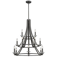 Z-Lite Verona 15 Light Chandelier in Bronze 2010-15BRZ