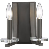 Z-Lite 2010-2S-BRZ Verona 2 Light 9 inch Bronze Wall Sconce Wall Light