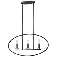 Z-Lite 2010-3L-BRZ Verona 3 Light 3 inch Bronze Pendant Ceiling Light