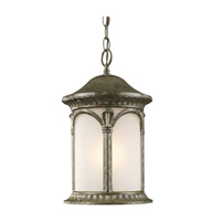 Z-Lite Hampton 1 Light Outdoor Chain Light in Antique Silver 2021CH-AS