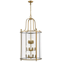 Z-Lite 205-12HB Wyndham 12 Light 22 inch Heirloom Brass Chandelier Ceiling Light