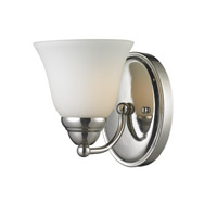 Athena 1 Light 6 inch Chrome Vanity Wall Light