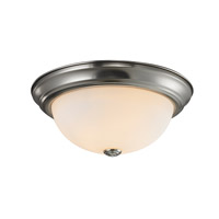 Z-Lite Athena 1 Light Flush Mount in Chrome 2108F1