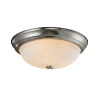 Z-Lite Athena 3 Light Flush Mount in Chrome 2108F3
