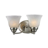 Z-Lite Athena 2 Light Vanity in Brushed Nickel 2110-2V