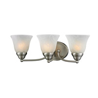 Z-Lite Athena 3 Light Vanity in Brushed Nickel 2110-3V