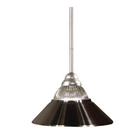 Riviera 1 Light 14 inch Brushed Nickel Island Light Ceiling Light
