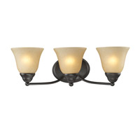 Z-Lite Athena 3 Light Vanity in Bronze 2114-3V