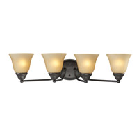Z-Lite Athena 4 Light Vanity in Bronze 2114-4V