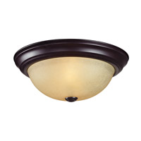 Z-Lite Athena 2 Light Flush Mount in Bronze 2114F2