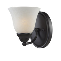 Z-Lite Athena 1 Light Vanity in Bronze 2116-1V