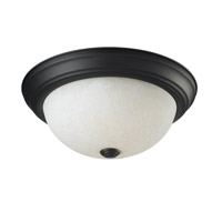 Z-Lite Athena 2 Light Flush Mount in Bronze 2116F2