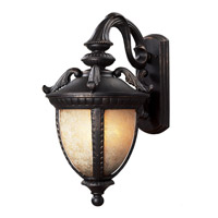 Z-Lite Winchester 3 Light Outdoor Wall Light in Black Gold 2141B-BG