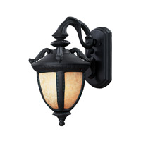 Z-Lite Winchester 2 Light Outdoor Wall Light in Black 2141M-BK