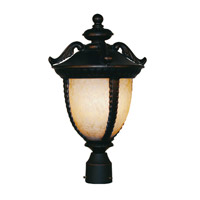 Z-Lite Winchester 3 Light Post Light in Black Gold 2141PHB-BG