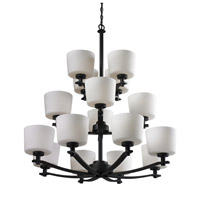 Z-Lite Arlington 16 Light Chandelier in Oil Rubbed Bronze 220-16