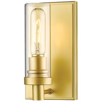 Z-Lite 3000-1S-SG Persis 1 Light 5 inch Satin Gold Wall Sconce Wall Light