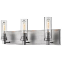 Z-Lite 3000-3V-OS Persis 3 Light 22 inch Old Silver Vanity Wall Light