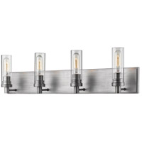Z-Lite 3000-4V-OS Persis 4 Light 32 inch Old Silver Vanity Wall Light