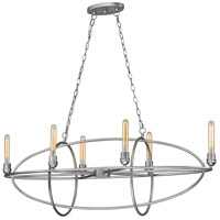 Z-Lite 3000-6OS Persis 6 Light 15 inch Old Silver Chandelier Ceiling Light