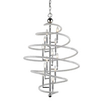 Czarina 12 Light 30 inch Chrome Pendant Ceiling Light
