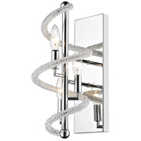 Czarina 3 Light 8 inch Chrome Wall Sconce Wall Light in 8.00