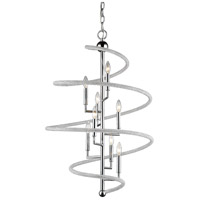 Z-Lite 3001-8CH Czarina 8 Light 26 inch Chrome Pendant Ceiling Light