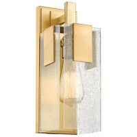 Gantt 1 Light 5 inch Vintage Brass Wall Sconce Wall Light