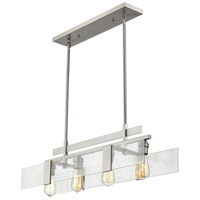 Z-Lite 3002-32BN Gantt 4 Light 32 inch Brushed Nickel Island Light Ceiling Light