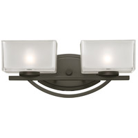 Z-Lite Cardine 2 Light Vanity in Painted Bronze 3006-2V