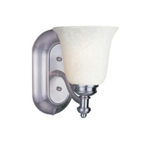 Z-Lite Hollywood 1 Light Vanity in Brushed Nickel 301-1V-BN-WM6