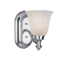 Z-Lite Hollywood 1 Light Vanity in Chrome 301-1V-CH